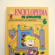 Libros de segunda mano: ENCICLOPEDIA DE CARLITOS 6 ¿CÓMO FUNCIONAN LAS MÁQUINAS? - GRIJALBO 1992. Lote 194500151