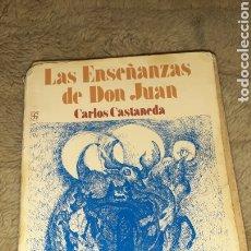 Libros de segunda mano: LAS ENSEÑANZAS DE DON JUAN. Lote 194503101