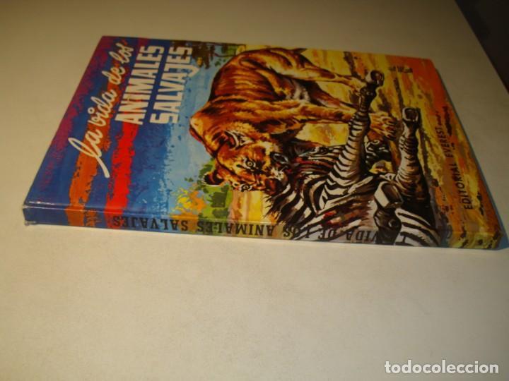 Libros de segunda mano: LA VIDA DE LOS ANIMALES SALVAJES - EFREN QUINTANILLA SAINZ / DIBUJANTE: VALBUENA - ED. EVEREST 1982 - Foto 2 - 194509751