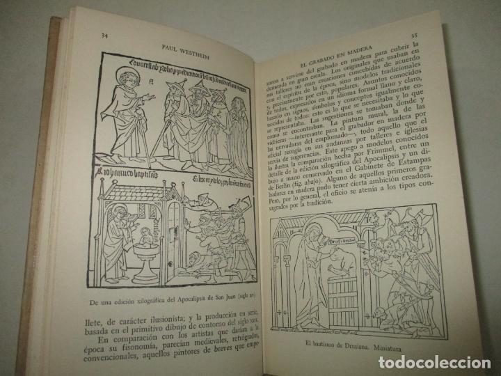 Libros de segunda mano: EL GRABADO EN MADERA. WESTHEIM, Paul. 1954. - Foto 3 - 194512867