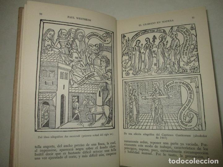 Libros de segunda mano: EL GRABADO EN MADERA. WESTHEIM, Paul. 1954. - Foto 4 - 194512867