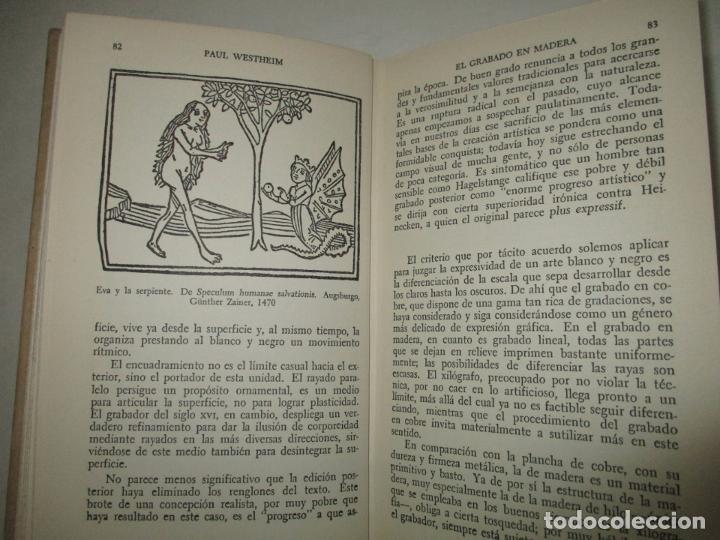 Libros de segunda mano: EL GRABADO EN MADERA. WESTHEIM, Paul. 1954. - Foto 5 - 194512867