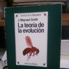 Libros de segunda mano: LA TEORIA DE LA EVOLUCION, J. MAYNARD SMITH, HB. Lote 194514531