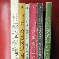Libros de segunda mano: LOTE ARTES DEL TIEMPO Y DEL ESPACIO. VOLÚMENES 4,5,7,10,11 Y 14.. Lote 194516915
