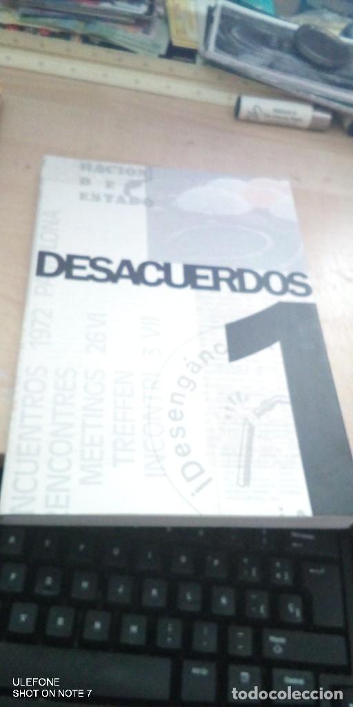 DESACUERDOS 1 - SOBRE ARTE, POLITICAS Y ESFERA PUBLICA EN EL ESTADO ESPAÑOL - 2004, 1ª EDIC. (Libros de Segunda Mano - Pensamiento - Otros)