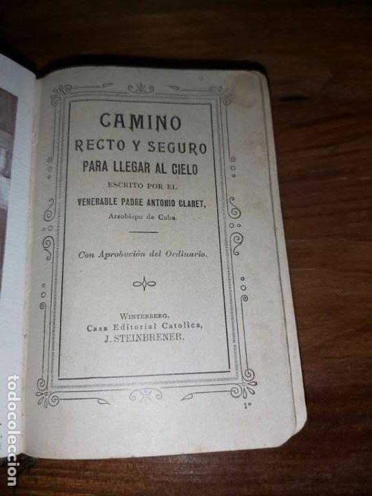 Libros de segunda mano: Camino recto y seguro para llegar al cielo - Foto 8 - 194521523