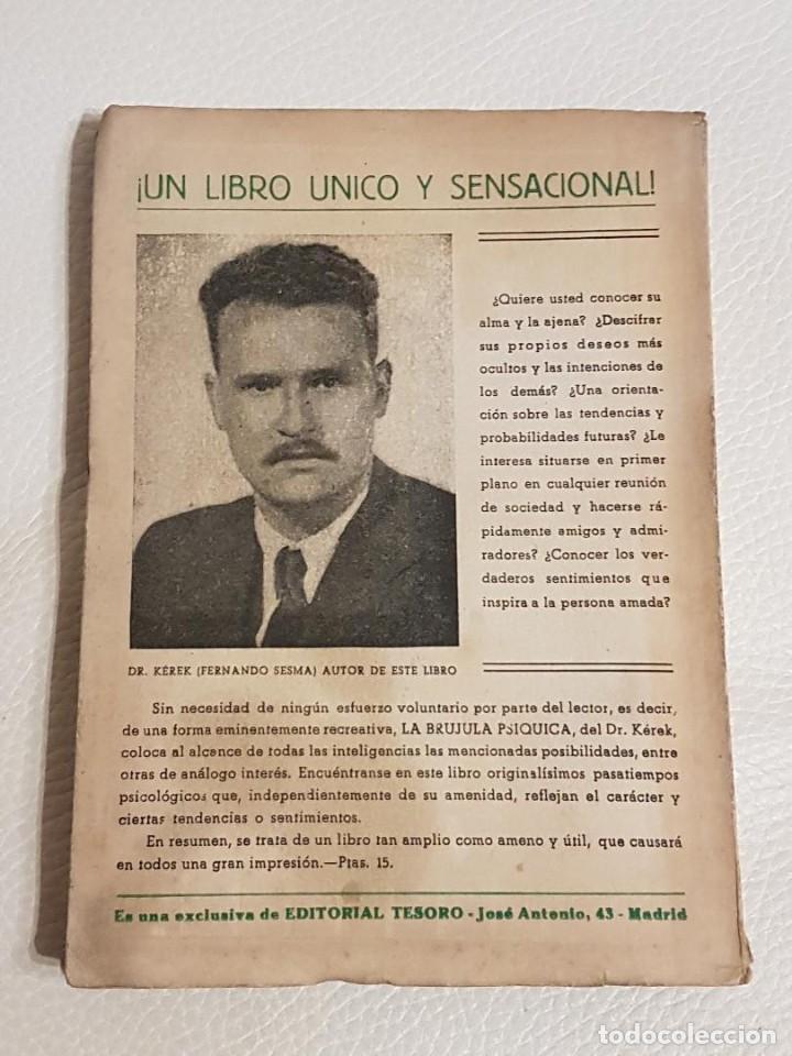 Libros de segunda mano: LA BRÚJULA PSÍQUICA - FERNANDO SESMA - PODER DE LA MENTE - PODERES PSÍQUICOS - RARO - Foto 2 - 194523617