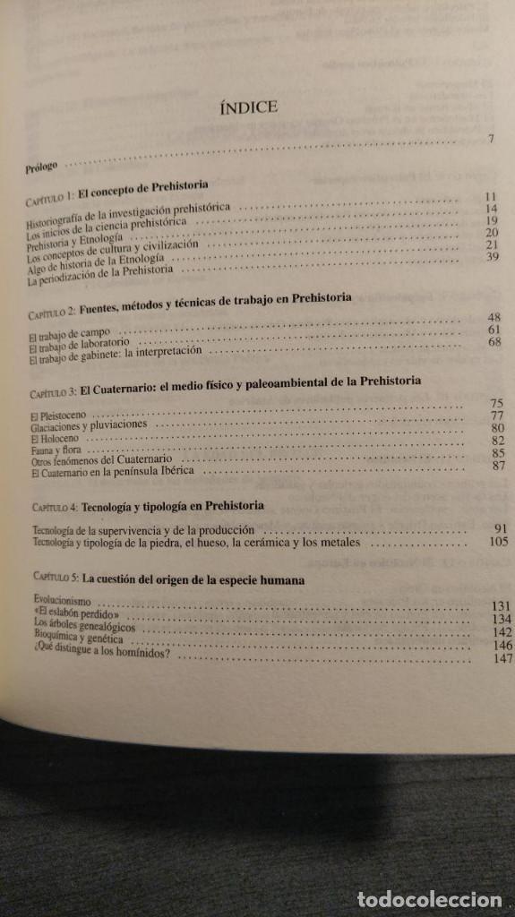 Libros de segunda mano: NOCIONES DE PREHISTORIA GENERAL - JORGE JUAN EIROA ARIEL EDITORES 1ª Edición 2000 - Foto 2 - 194525098