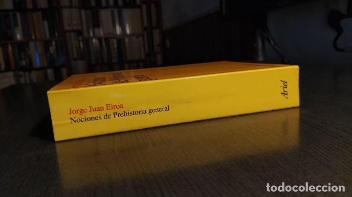 Libros de segunda mano: NOCIONES DE PREHISTORIA GENERAL - JORGE JUAN EIROA ARIEL EDITORES 1ª Edición 2000 - Foto 4 - 194525098