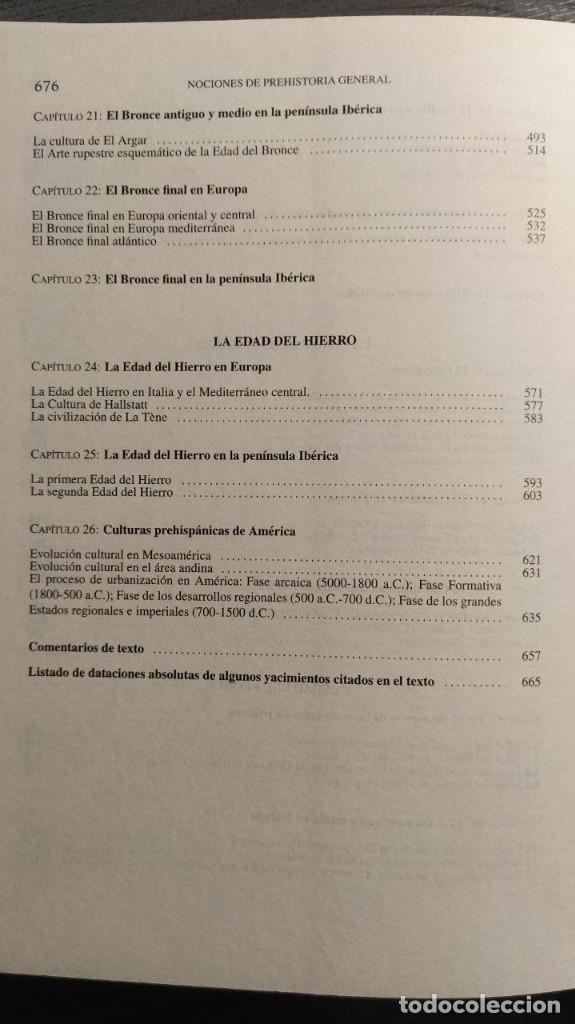 Libros de segunda mano: NOCIONES DE PREHISTORIA GENERAL - JORGE JUAN EIROA ARIEL EDITORES 1ª Edición 2000 - Foto 6 - 194525098
