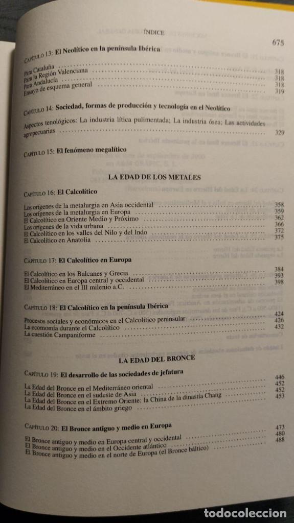 Libros de segunda mano: NOCIONES DE PREHISTORIA GENERAL - JORGE JUAN EIROA ARIEL EDITORES 1ª Edición 2000 - Foto 7 - 194525098