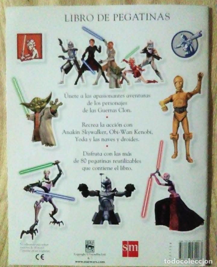 Libros de segunda mano: libro pegatinas star wars the clone wars sm 2008 completo - Foto 4 - 194528800