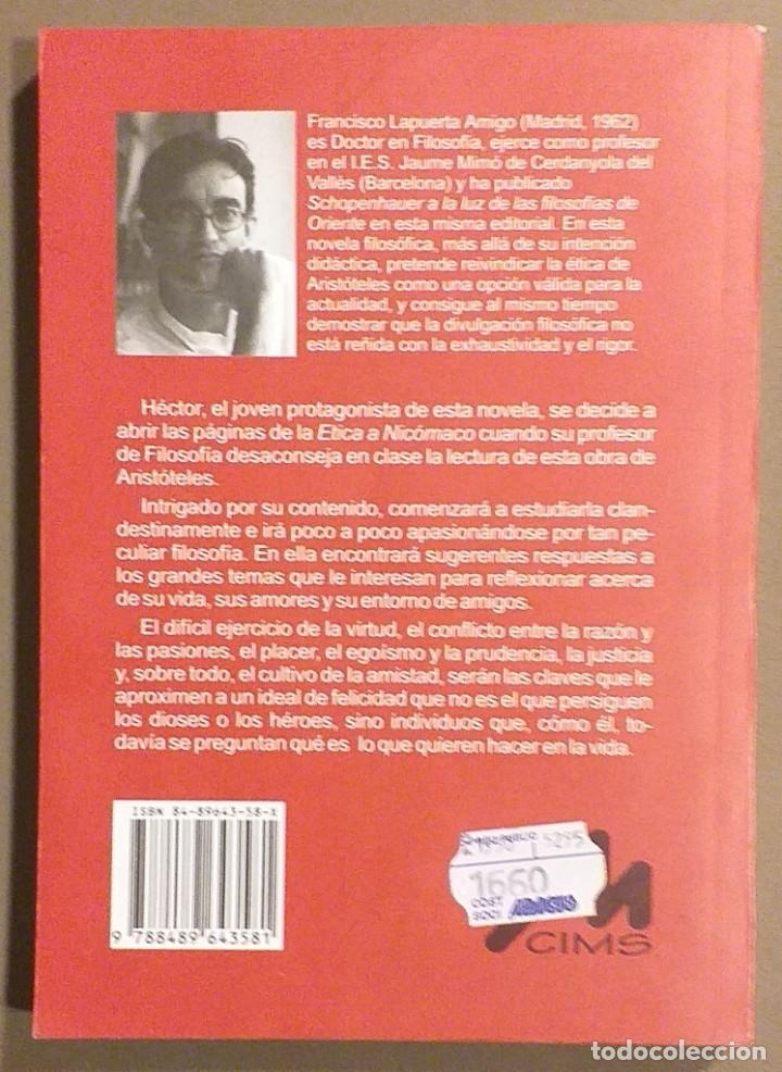 Libros de segunda mano: Diario de un joven aristotélico. Francisco Lapuerta Amigo. CIMS Biblioteca Singular 1997 Buscadísimo - Foto 2 - 194530671
