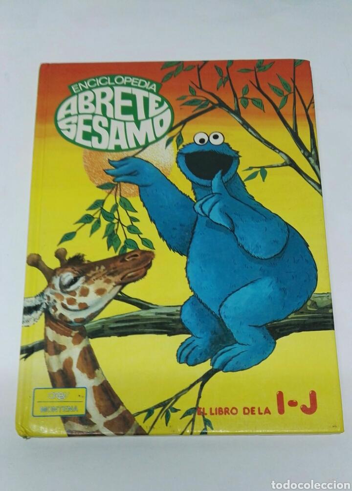 ENCICLOPEDIA ABRETE SÉSAMO EL LIBRO DE LA I-J (Libros de Segunda Mano - Literatura Infantil y Juvenil - Otros)