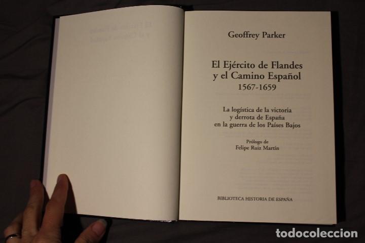 Libros de segunda mano: EL EJÉRCITO DE FLANDES. GEOFFREY PARKER - Foto 3 - 194531810