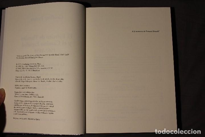 Libros de segunda mano: EL EJÉRCITO DE FLANDES. GEOFFREY PARKER - Foto 4 - 194531810