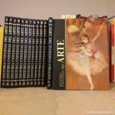 Libros de segunda mano: HISTORIA UNIVERSAL DEL ARTE. 13 TOMOS. EDITORIAL SARPE.. Lote 194533840