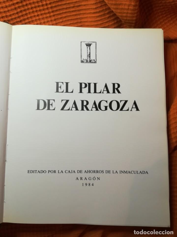 EL PILAR DE ZARAGOZA. CAJA AHORROS DE LA INMACULADA 1984 (Libros de Segunda Mano - Historia - Otros)