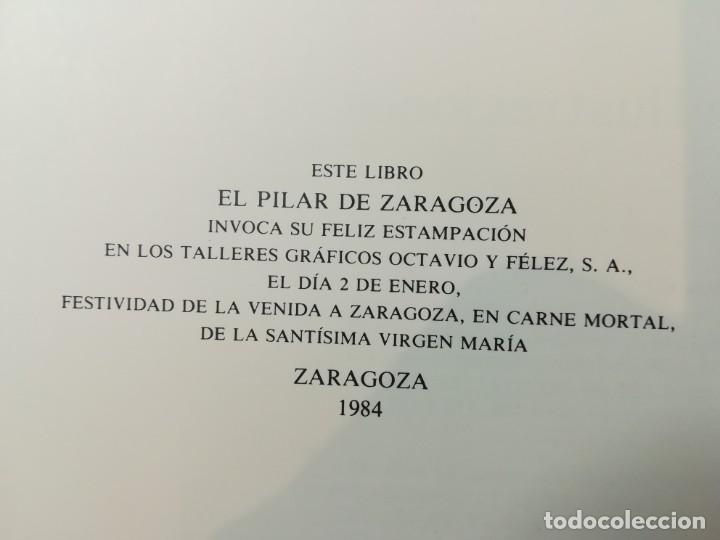 Libros de segunda mano: EL PILAR DE ZARAGOZA. CAJA AHORROS DE LA INMACULADA 1984 - Foto 4 - 194535242