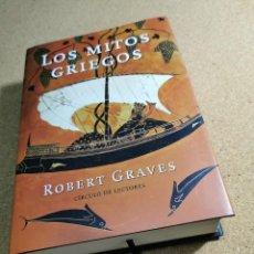 Libros de segunda mano: LOS MITOS GRIEGOS (ROBERT GRAVES). Lote 194536928