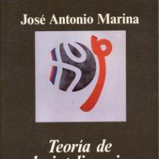 Libros de segunda mano: TEORÍA DE LA INTELIGENCIA CREADORA.JOSÉ ANTONIO MARINA .-NUEVO. Lote 194540667