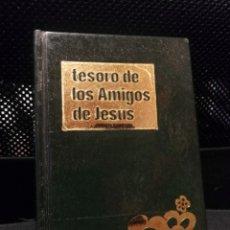 Libros de segunda mano: DEVOCIONARIO INFANTIL TESORO DE LOS AMIGOS DE JESUS. ENRIQUE DE OSSO. 11º EDICION 1987. Lote 194541540