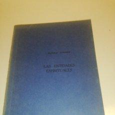 Libros de segunda mano: RUDOLF STEINER, LAS ENTIDADES ESPIRITUALES. Lote 194542503