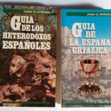 Libros de segunda mano: GUÍA DE LOS HETERODOXOS ESPAÑOLES Y DE LA ESPAÑA GRIALICA ,JUAN G. ATIENZA . ...... PARA PSICOLOGÍA. Lote 194552816