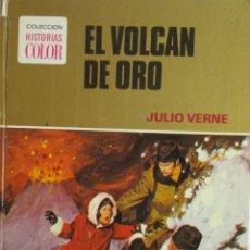 Libros de segunda mano: EL VOLCÁN DE ORO JULIO VERNE . Lote 194568067