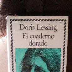 Libros de segunda mano: EL CUADERNO DORADO, DORIS LESSING, BIBLIOTECA DE PLATA ED CÍRCULO DE LECTORES. Lote 194588290