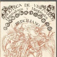 Libros de segunda mano: PRISCILIANO. TRATADOS Y CANONES. EDITORA NACIONAL. Lote 194589228