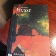 Libros de segunda mano: DEMIAN . HERMANN HESSE . ALIANZA EDITORIAL . BIBLIOTECA HESSE.. Lote 194589531