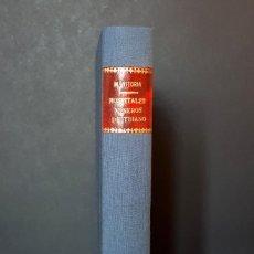 Libros de segunda mano: LOS HOSPITALES MINEROS DE TRIANO. MANUEL VITORIA ORTIZ. BILBAO- 1978. Lote 194591332