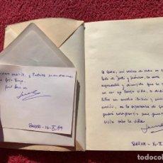 Libros de segunda mano: 1989. MI ISLA. ESCORZOS. SEMA PUJOL. ESTÁ DEDICADO Y FIRMADO POR EL AUTOR A MANO. BARCELONA.. Lote 194594971