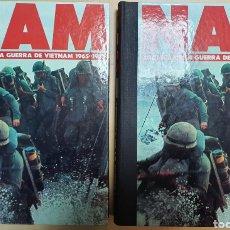 Libros de segunda mano: NAM, CRONICA DE LA GUERRA DE VIETNAM 1965-1975 (COMPLETA 2 TOMOS) PLANETA AGOSTINI. Lote 194595295