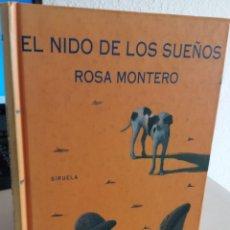 Libros de segunda mano: EL NIDO DE LOS SUEÑOS - MONTERO, ROSA. Lote 194602531