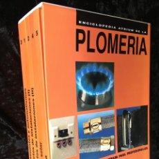 Libros de segunda mano: ENCICLOPEDIA ATRIUM DE LA PLOMERIA - 5 TOMOS - ILUSTRADO - ISBN: 8481370185. Lote 194604207