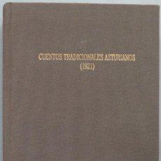 Libros de segunda mano: CUENTOS TRADICIONALES ASTURIANOS (1921). Lote 194605112