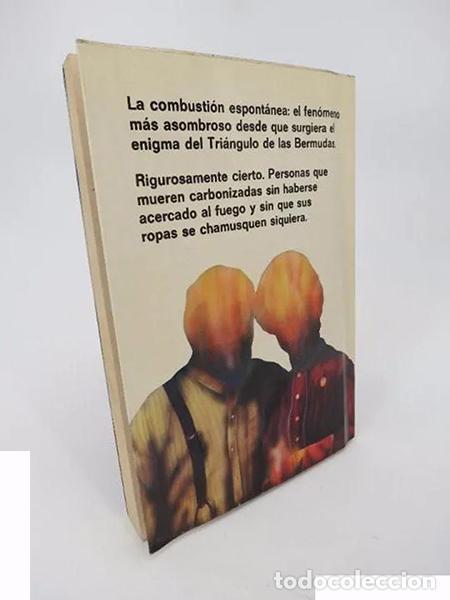 Libros de segunda mano: FUEGO DEL CIELO (COMBUSTIÓN ESPONTÁNEA) (Michael Harrison) Martínez Roca, 1980 - Foto 2 - 194605535