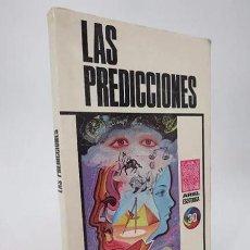Libros de segunda mano: ARIEL ESOTÉRICA 30. LAS PREDICCIONES (JUAN GRATACOS) ARIEL, 1976. Lote 194605561