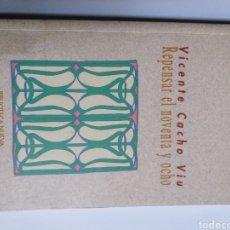 Libros de segunda mano: REPENSAR EL NOVENTA Y OCHO . VICENTE CACHO VIU .. LITERATURA ENSAYO. Lote 194612578