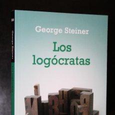 Libros de segunda mano: LOS LOGÓCRATAS.. Lote 194621738