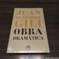 Libros de segunda mano: OBRA DRAMÁTICA JUAN GUTIÉRREZ GILI RESIDENCIA DE ESTUDIANTES 2005. Lote 194635302