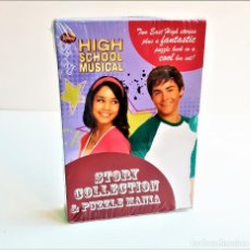 Libros de segunda mano: HIGH SCHOOL MUSICAL HISTORIA COLLECTION & PUZZLE MANIA SET DE LIBROS - NUEVO SIN ABRIR - EN INGLES. Lote 194636267