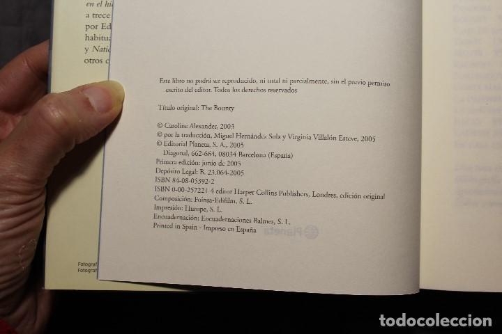 Libros de segunda mano: LA BOUNTY. LA VERDADERA HISTORIA DEL MOTÍN DE LA BOUNTY. CAROLINE ALEXANDER - Foto 2 - 194638227