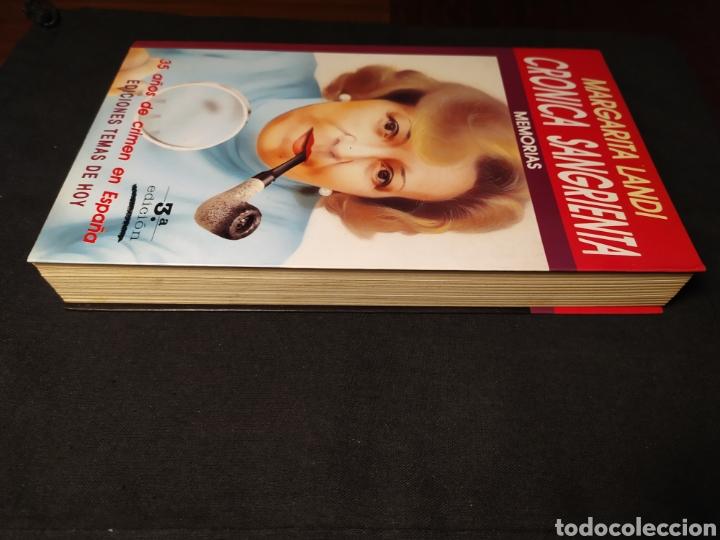 Libros de segunda mano: Crónicas sangrientas. Margarita Landi. Memorias. 35 años de crimen en España - Foto 2 - 194641098
