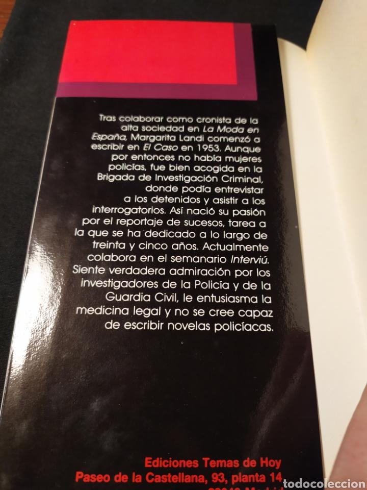 Libros de segunda mano: Crónicas sangrientas. Margarita Landi. Memorias. 35 años de crimen en España - Foto 4 - 194641098