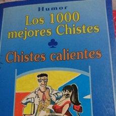 Libros de segunda mano: HUMOR LOS 1000 MEJORES CHISTES- CALIENTES. Lote 194647698