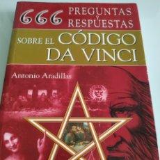 Libros de segunda mano: 666 PREGUNTAS Y RESPUESTAS SOBRE EL CÓDIGO DA VINCI. Lote 194658117