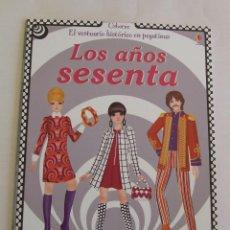 Libros de segunda mano: LIBRO VESTUARIO HISTORICO EN PEGATINAS LOS AÑOS SESENTA BEATLES MODS ROLLING STONES. Lote 194658595